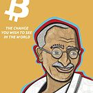 Bitcoin - the change you wish to see in the world by toonpunk