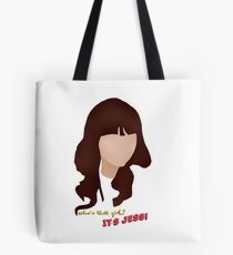 Who's that girl? It's Jess! Tote Bag