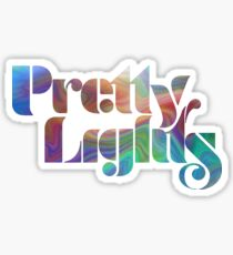 Psychedelic Pretty Lights Logo Sticker