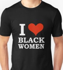 da64e6b55 I Love Black women Black is Beautiful Black Pride Slim Fit T-Shirt