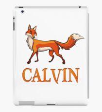 Calvin Fox iPad Case/Skin
