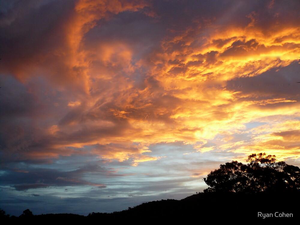 Firey Sunsett by Ryan Cohen