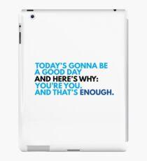 You're You, And That's Enough (DEAR EVAN HANSEN) iPad Case/Skin