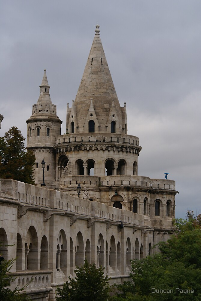 Fisherman's Bastion by Duncan Payne