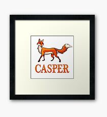 Casper Fox Framed Print