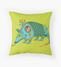 Armadillo, from the AlphaPod collection Throw Pillow