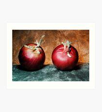 Cipolla Rossa Art Print