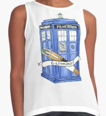 11th Doctor's Tardis, Sonic, and Saying Contrast Tank