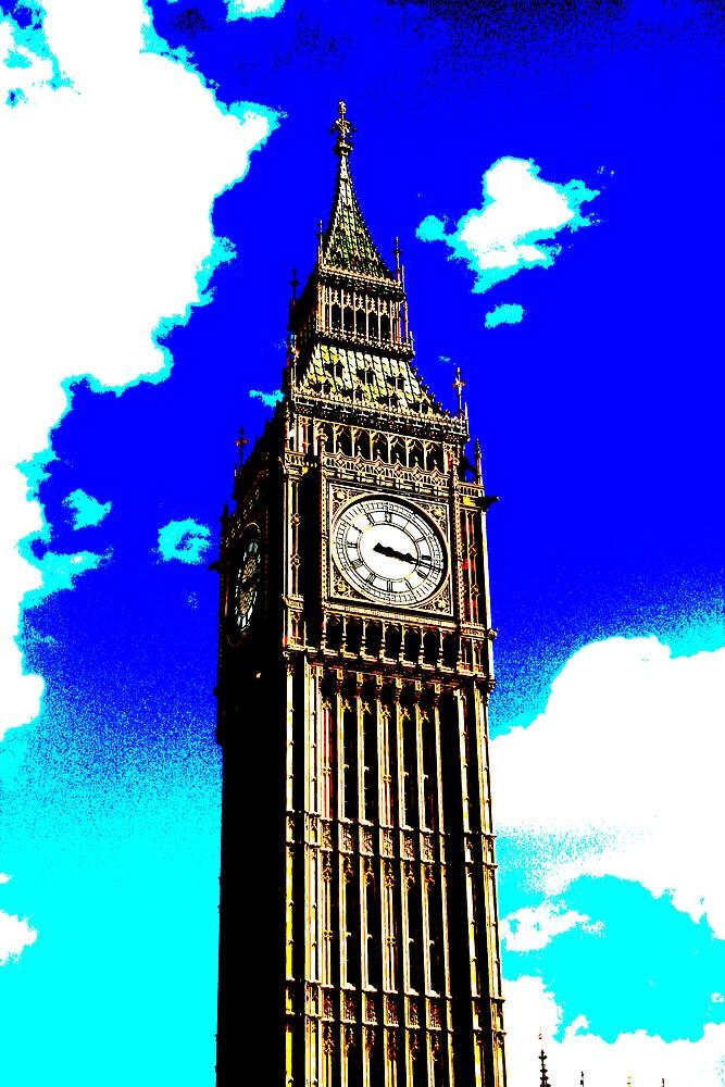 Big Ben by MyLondonArt