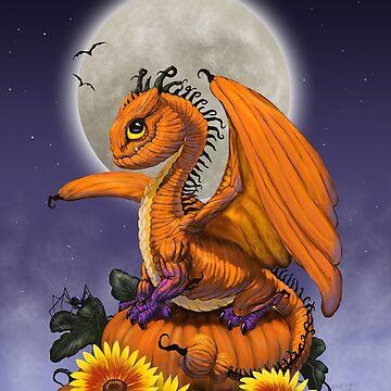 Pumpkin Dragon by SMorrisonArt