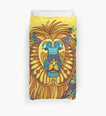 Lion, from the AlphaPod collection Duvet Cover