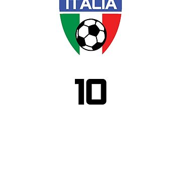 Italy Jersey Shirt Italia Calcio Soccer National Team by 7United