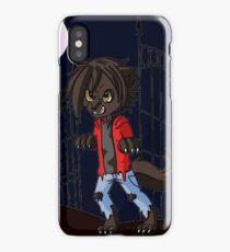Chibi Werewolf iPhone Case/Skin