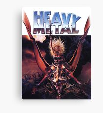 Heavy Metal Movie Canvas Print