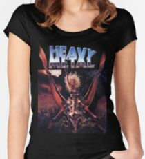 Heavy Metal Movie Women's Fitted Scoop T-Shirt