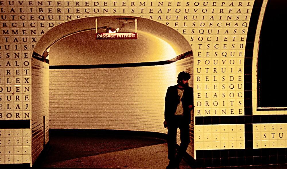 Paris Metro by Virginia Maguire