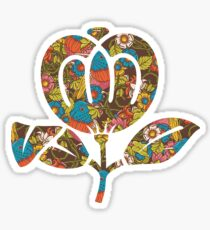 fleetwood mac flower logo Sticker