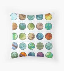 Star Wars Planets Pattern Floor Pillow