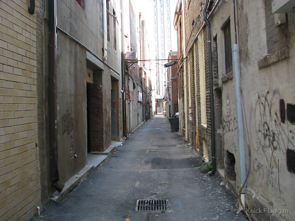 Down the Alley by Knick Flanigan