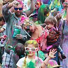 HOLI Indian Color Festival Crowd by Heather Friedman