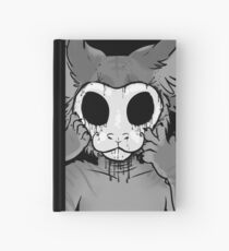 Behind The Mask Hardcover Journal
