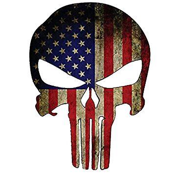 american skull by spartamos
