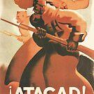 Soldiers of the Republic, attack! / ¡Atacad! : Soldados de la República - Spain, 1936 by dru1138