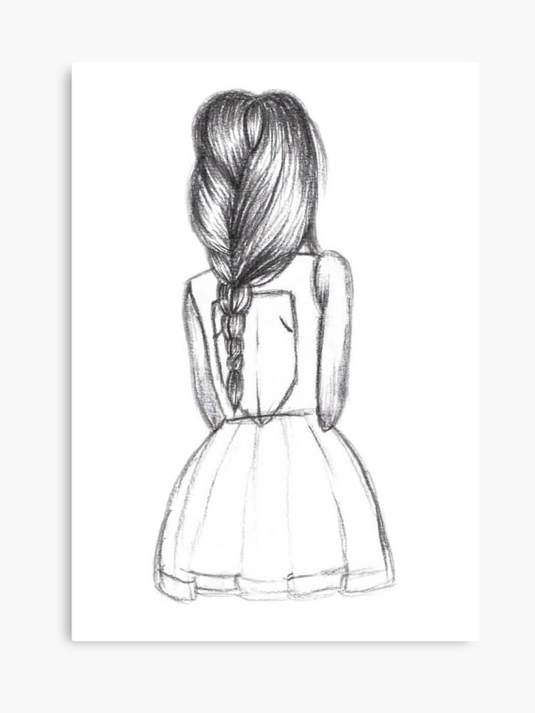 Tumblr Girl | Canvas Print