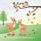 Smile and the world smiles with you! by Bianca Stanton