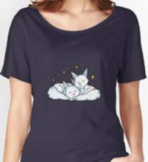Cuddling Crystal Critters Women's Relaxed Fit T-Shirt