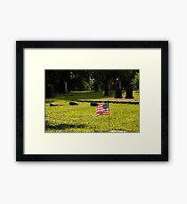Memorial Flag 1 Framed Print