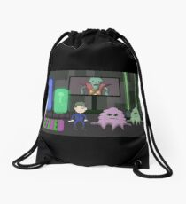 The Voyage of Lonny Night Drawstring Bag
