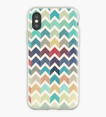 Watercolor Chevron Pattern iPhone-Hülle & Cover