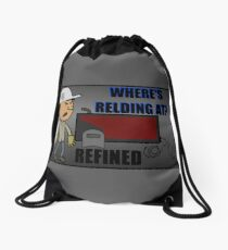 Where's Relding At? Drawstring Bag