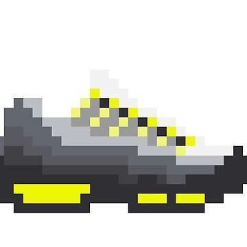 8-bit Airmax 95s by soujohn