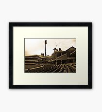 SCG quiet time Framed Print