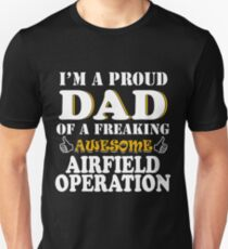 Airfield Operation Dad Gifts Father's Day Valentine Christmas Gift Unisex T-Shirt