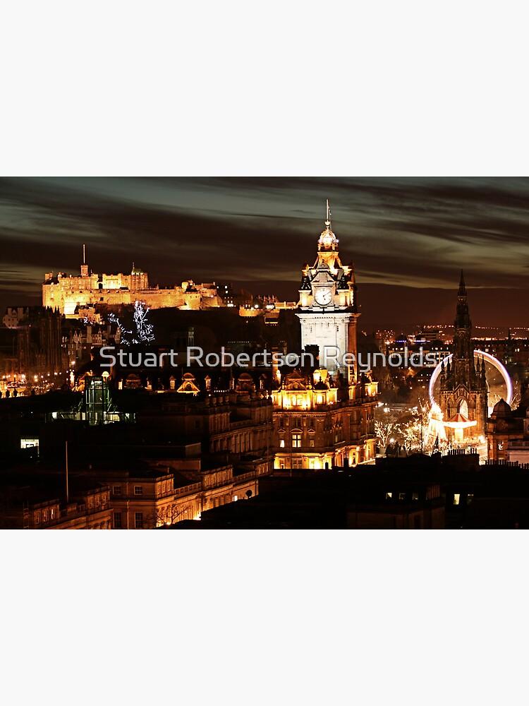Edinburgh at Night by Sparky2000