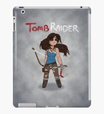A Smol Tomb Raider iPad Case/Skin
