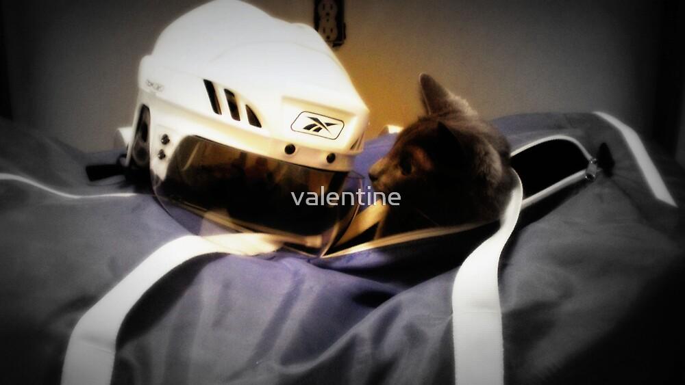 Hockey Cat by valentine