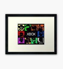 Xbox Universe Framed Print
