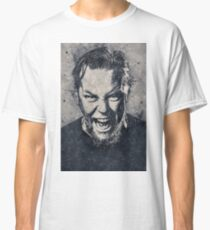 James Hetfield Geometric Art Classic T-Shirt