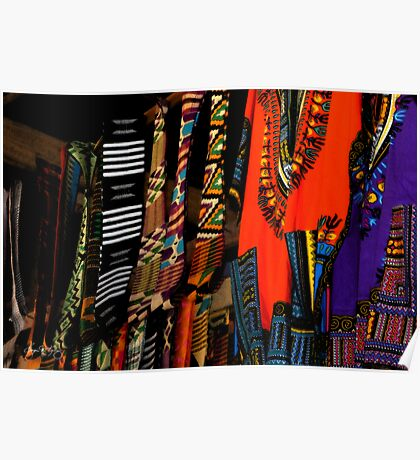 Ghana Clothes Poster