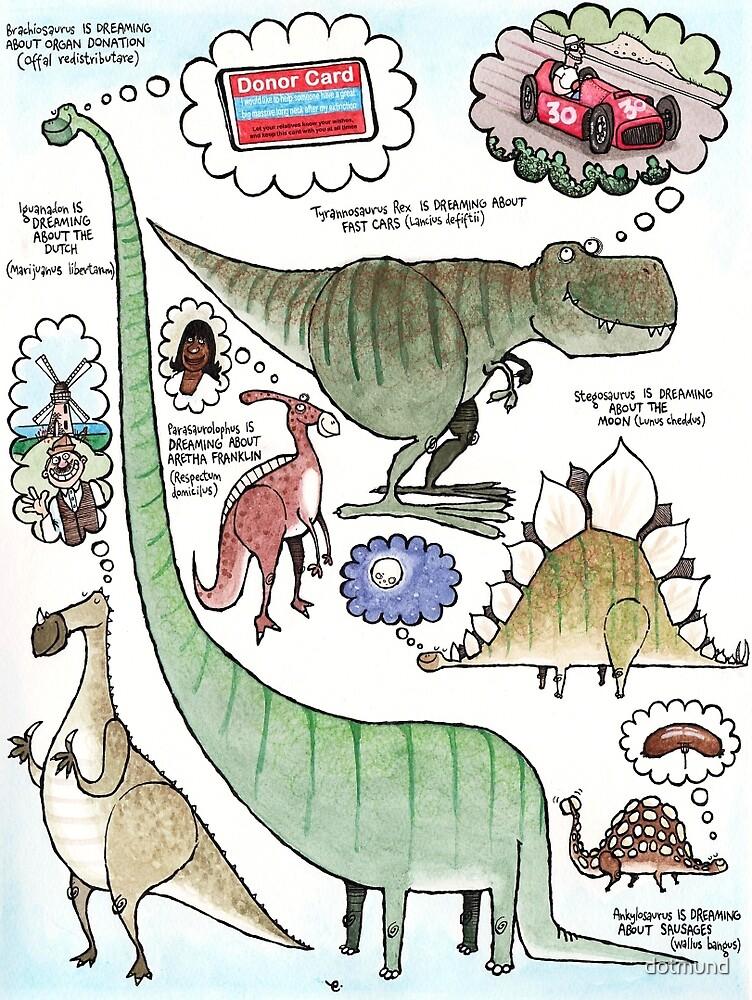 Dino Dreams by dotmund