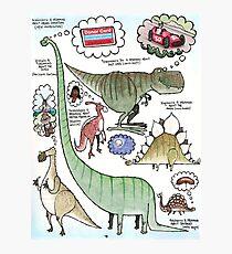 Dino Dreams Photographic Print