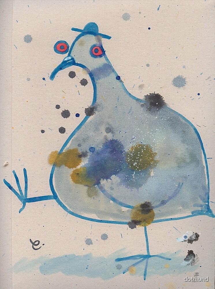 Commuter pigeon by dotmund