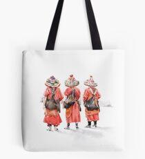 Water sellers in Marrakesh Tote Bag