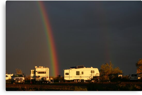 Winter Camping In Quartzsite, Arizona by CarolM