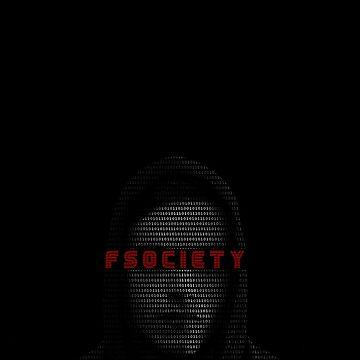Elliot fsociety · mr. Robot tv show by Uwaki