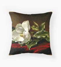 Magnolia Grandiflora, Kunstmalerei Dekokissen